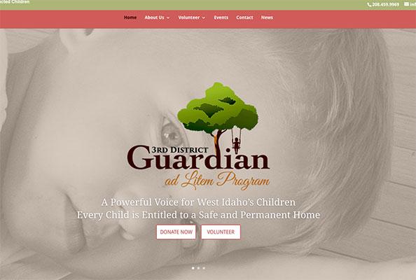 3rd District Guardian Website Design