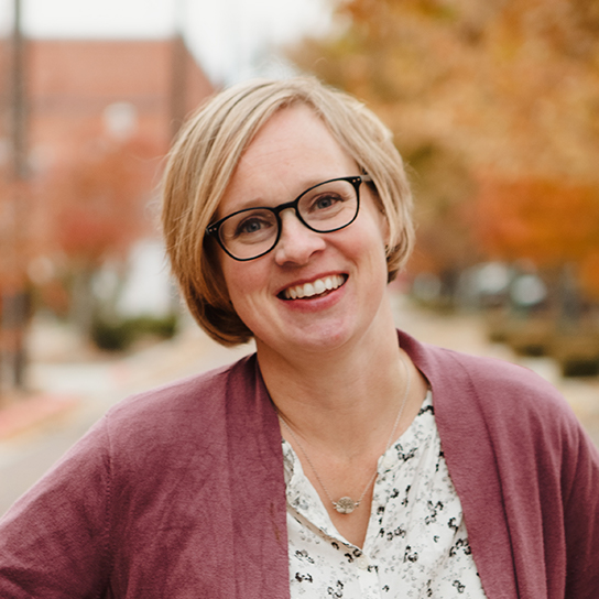 Heather Jensen, owner of Inspired Web Design